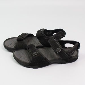 Nike ACG black suede hiking sport sandals